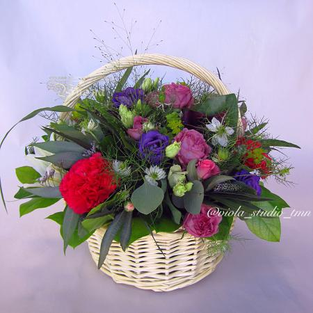 Букет Корзины из цветов
