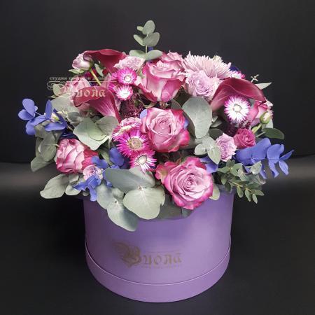 Букет Цветы в коробках