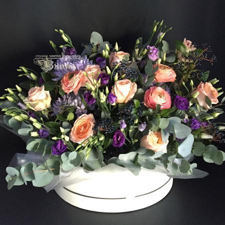 Букет Коробки с цветами